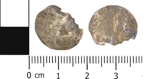 WMID-331B68: Post Medieval coin: halfgroat of Elizabeth I