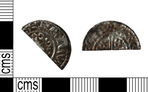WILT-00AC89: Medieval: cut penny, Henry II