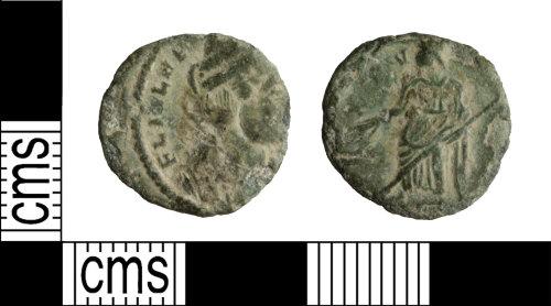 WILT-FBFEAA: Roman Coin: Helena Nummus