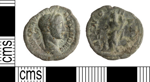 WILT-E26F0B: Roman Coin: Severus Alexander Denarius