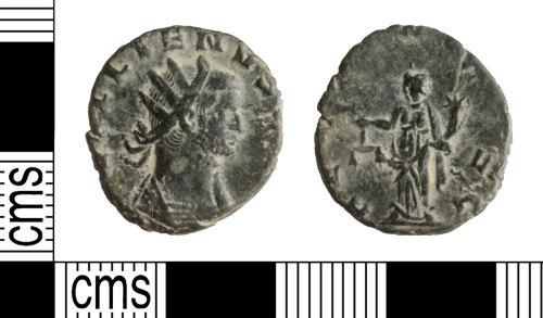 WILT-E1D1AD: Roman Coin: Gallienus Radiate