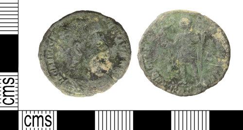 WILT-96BEF3: Roman: nummus, Magnentius