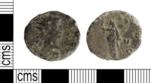 WILT-3202B6: Roman: Radiate, Gallienus