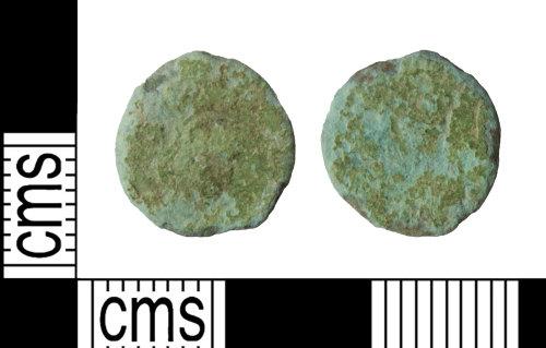 WILT-BE9D2E: Roman: nummus, House of Theodosius