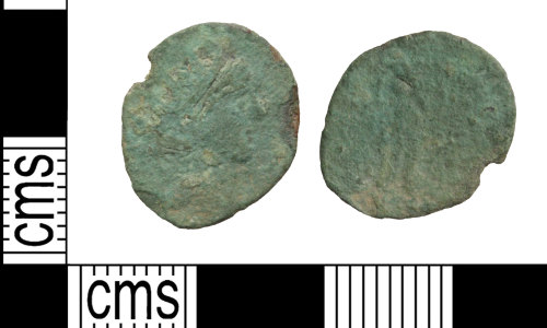 WILT-C032CE: Roman Coin : Barbarous radiate, Uncertain Ruler