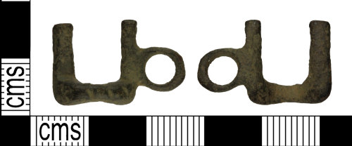 WILT-81EAA8: Post medieval: Toggle Clasp