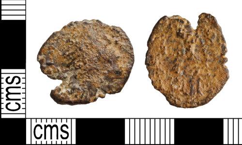 WILT-83C284: Coin: Roman barbarous radiate, uncertain ruler