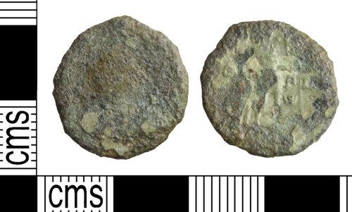 WILT-7F6E0A: Coin: Nummus, Valentinian or Gratian