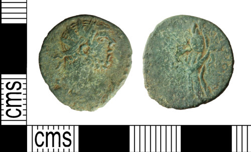 WILT-ECDD44: Roman Coin : Radiate, Carausius