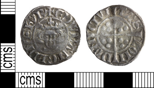 WILT-3E5BC9: Medieval: Silver penny, Edward I