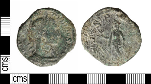 A resized image of Roman: sesteruis uncertain ruler
