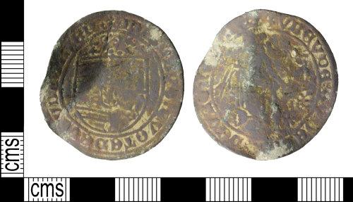 WILT-4D5F12: Post medieval: Jetton, Venus