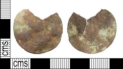 WILT-4B631A: Post medieval: Jetton, uncertain moneyer