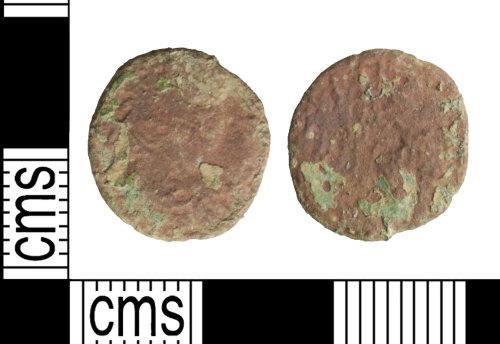 WILT-A707F3: Coin: Roman, nummus, uncertain ruler
