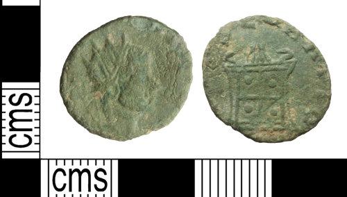 WILT-2B9FD4: Coin: Roman radiate, Claudius I