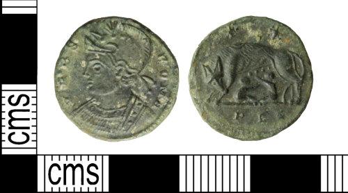 WILT-B86B75: Coin: Roman nummus, House of Constantine