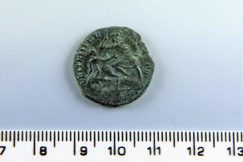 A resized image of Roman nummus FEL TEMP REPARATIO reverse type