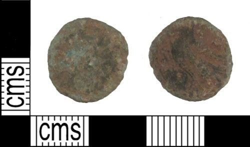 SUSS-FA4D51: ROMAN COIN: Radiate of unknown ruler, AD 260 to 296. Reverse depicting eagle.