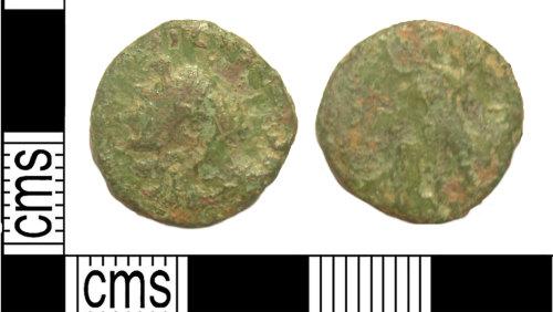 KENT-C5317E: Roman coin: radiate