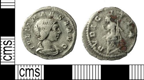 BERK-30007D: Roman coin: denarius of Julia Maesa