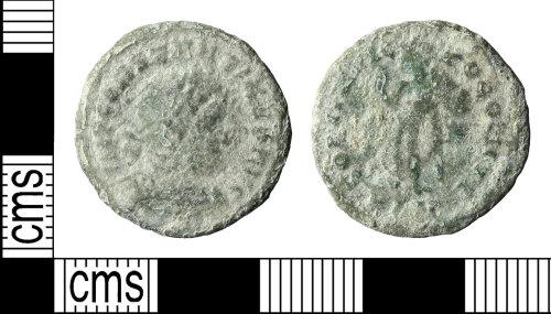 BERK-413BEC: Roman coin: nummus of Constantine I