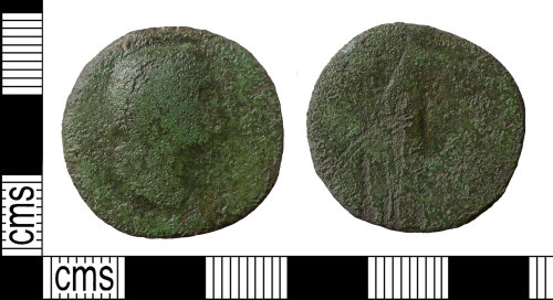 BERK-C00FE2: Roman coin: as or dupondius