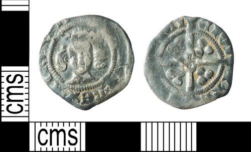 BERK-DE77E7: Medieval coin: Edward III penny