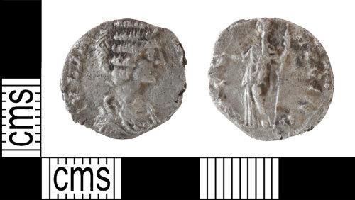 BERK-F324A2: Roman silver denarius of Julia Domna