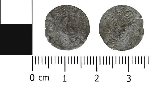 DENO-6E729A: Post Medieval Coin: Solidus or Schilling of Gustav II Adolf of Sweden
