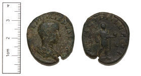 A resized image of Copper-alloy Sestertius of Philip II