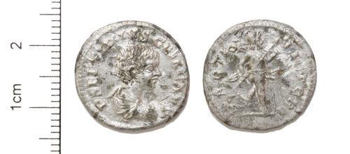 CAM-0BC6D4: Silver Denarius of Geta