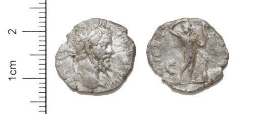 CAM-0CA227: Silver Denarius of Septimius Severus