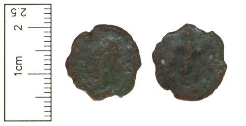 CAM-386016: Roman Coin : Copper-alloy nummus of the House of Valentinian, AD364-378