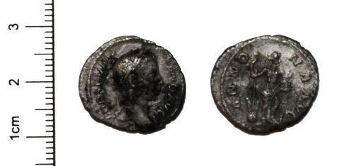 CAM-587DC8: Silver Roman Coin SM/PW to check