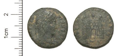 CAM-937257: Roman Coin : Copper alloy Nummus of Constantine I.