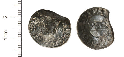 CAM-CE5552: Medieval Coin : Silver penny of Harold II, AD 1066. North number 838