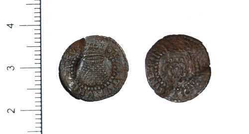 CAM-DDA341: Silver Hammered Coin of James I