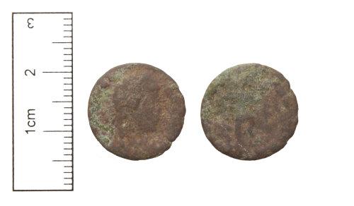 CAM-0E69E7: Roman Coin : Copper-alloy nummus of the House of Valentinian