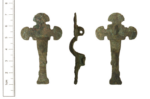 CAM-2CA569: Early-Medieval Small-long brooch