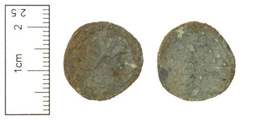 CAM-4C8869: Roman Coin : Radiate of Claudius II, AD 268-270.