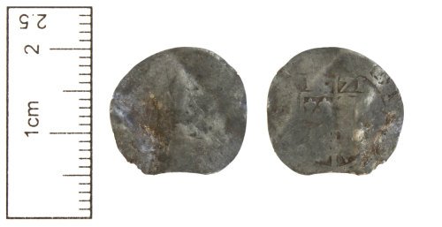 CAM-90367D: Post-Medieval coin : Silver threepence of Elizabeth I.