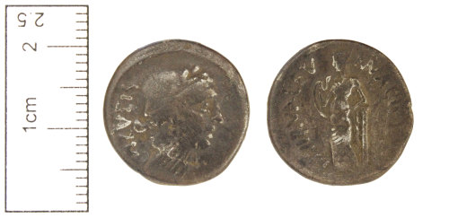 CAM-9AA1A8: Roman coin : Republican Denarius