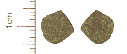 CAM-EE7709: Roman Coin : Copper-alloy barbarous radiate copying an uncertain radiate ruler, c. AD 275-285