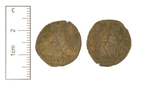 CAM-F5F87E: Roman Coin : Silver denarius of Severus Alexander, AD 222-235