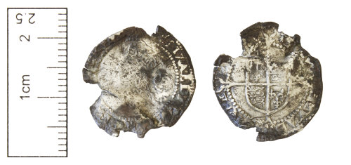 CAM-304139: Post-Medieval coin : Silver coin of Elizabeth I