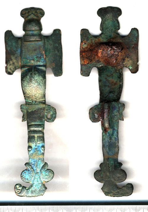 SF3889: Early-medieval cruciform brooch