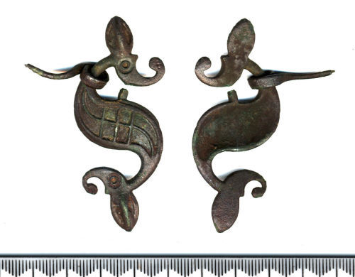 SF5191: Roman dragonesque brooch