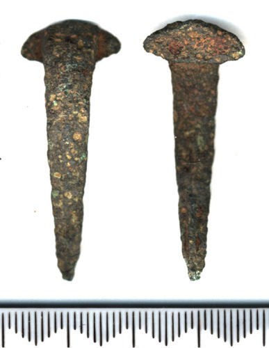 SF4556: Colchester derivative rear hook type BOW BROOCH