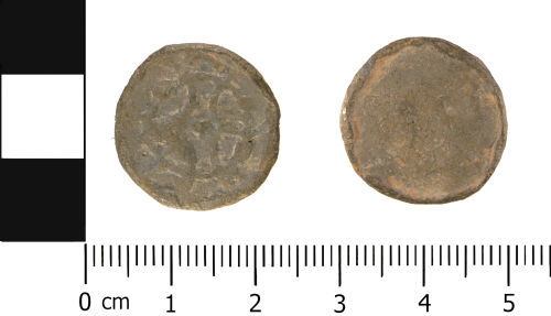 A resized image of Late Medieval to Post Medieval: Lead alloy token