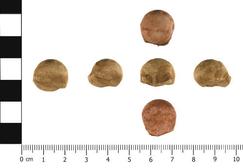 WMID-67808E: Post Medieval: Musket Ball or shot